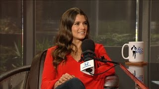 NASCAR Driver Danica Patrick Joins The RE Show in Studio - 3/23/17