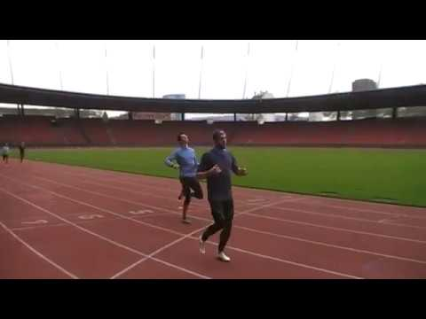 300m Training im Stadion Letzigrund