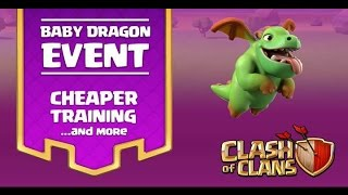 Clash Of Clans|How to complete Baby Dragon event|Proper funneling of wizards