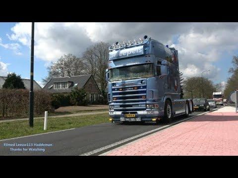 RETRO TRUCK TOUR 2019 - Het verzamel plaats | Arrival Trucks at Winkoop Ermelo