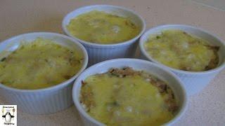 Рецепт запеканок с картофелем в духовке.Запеканка из рыбы и картофеля