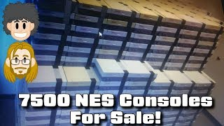 7500 NES Consoles for Sale!!! #CUPodcast