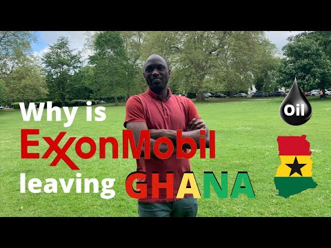 Exxon Mobil Corp Exits Oil Exploration Prospect in #Ghana 🇬🇭🇬🇭