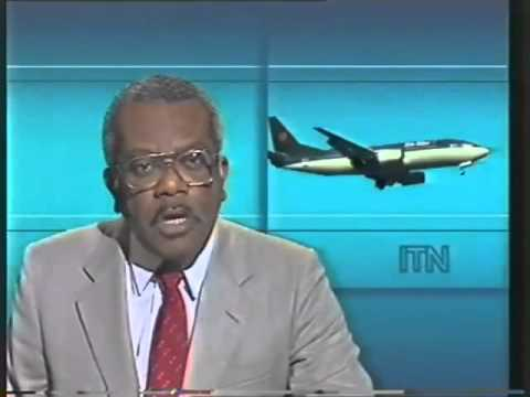 Kegworth air disaster: ITN breaking news bulletin
