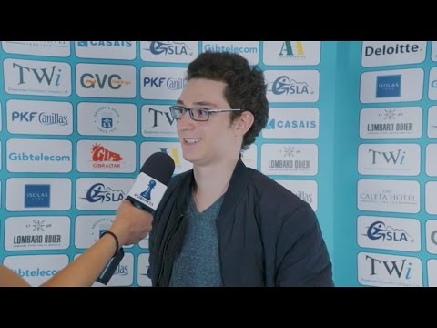 Round 3 Gibraltar Chess post-game interview with Fabiano Caruana