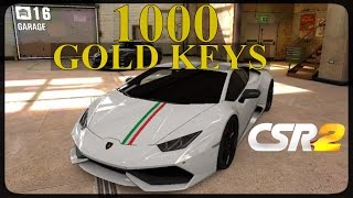 CSR Racing 2 - 1000 Gold keys!! - Episode 6