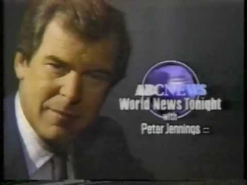 World News Tonight - Nightline - ABC News - Commercial - 1988