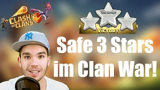 CLASH OF CLANS: Save 3 Stars im Clan War! ✭ Let's Play Clash of Clans [Deutsch/German HD]