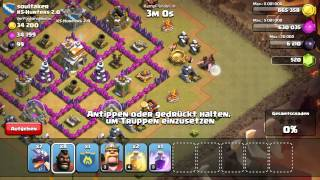 Eskalation im Clankrieg - Let's Play Clash of Clans #017 [Deutsch/German]