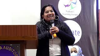 "Ms MANJULATHA K, CITY EDITOR,  NEW INDIAN EXPRESS AT ""INDIA'S TEEN SPIRIT""@BIRLA SCIENCE CENTER, HYD"