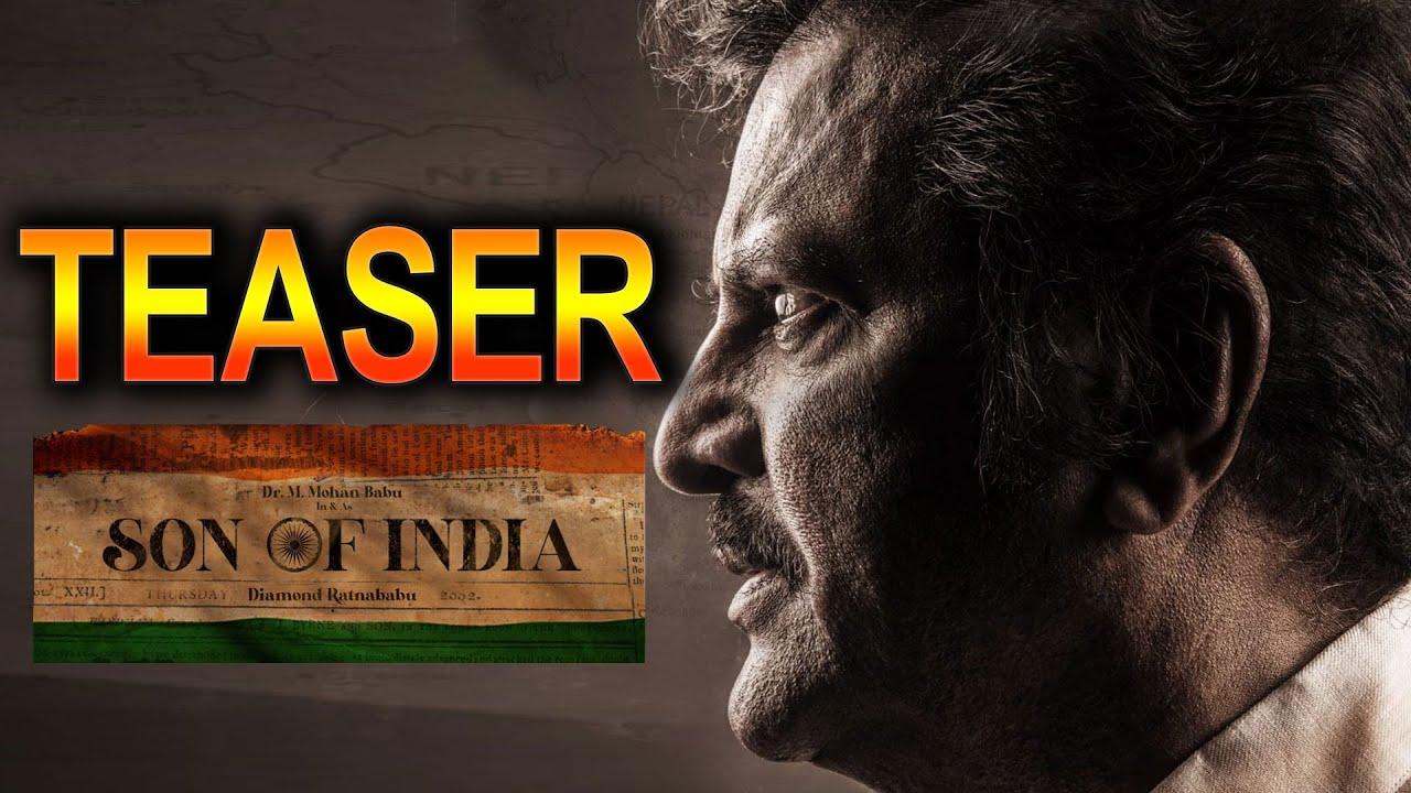 Mohanbabu's New Movie On Patriotism - Son Of India