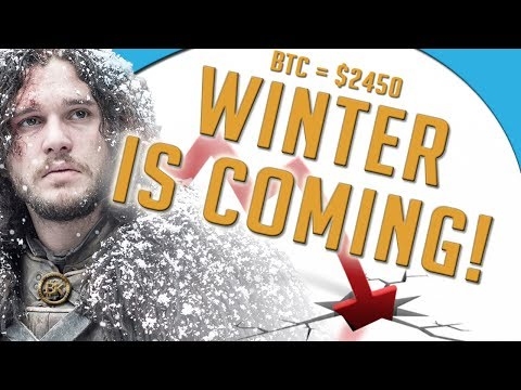 😱📉WINTER IS COMING!! Bitcoin Price 2450 USD JUNE 30 | Crypto Currency Stock Chart Analysis BTC ETH