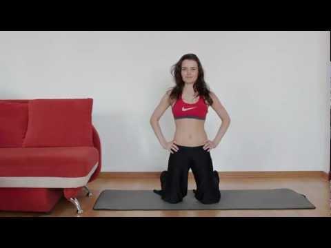 Упражнения для трицепса для девушек в домашних условиях
