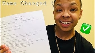 I Changed My Name ! (Legally)
