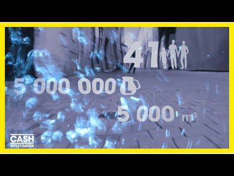 """""""VIDEO"""". """"Cash Investigation"""" découvre une fuite qui valait 5 millions de litres à Nîmes"""