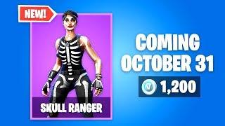 Fortnite Skull Ranger Skin this Halloween!