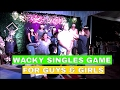How to Host a Wedding Reception: Wacky Singles Game for Guys and Girls