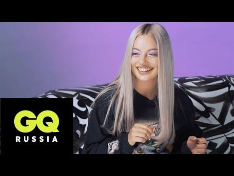 Катя Кищук играет в караоке-рулетку
