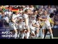 South Africa W Germany W Match Highlights
