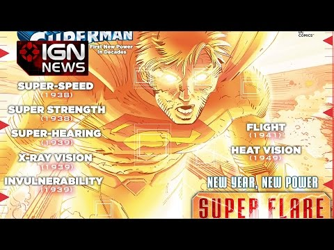 DC Comics Reveals the Name of Superman's New Power - IGN News