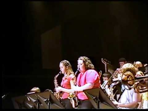 Moon River 2004 New Martinsville School Jazz Band