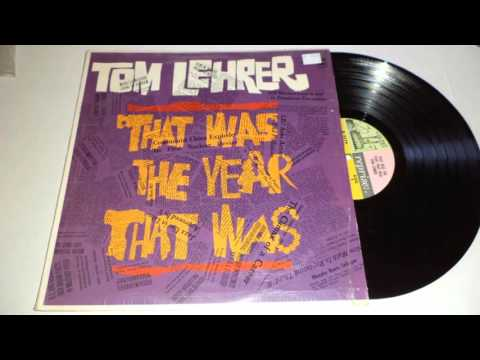 Tom Lehrer - The Vatican Rag (That Was The Year That Was LP, 1965)