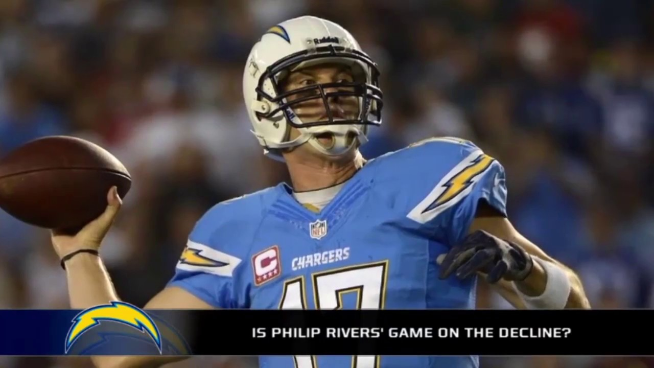 How bad of a decline is Philip Rivers on