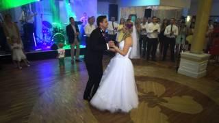 Pierwszy taniec Magdy i Tomka. 26.07.2014r.