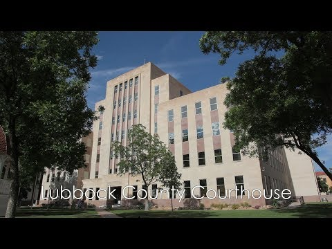 Practicing Law In Lubbock County: A Tour Of The Lubbock County Courthouse
