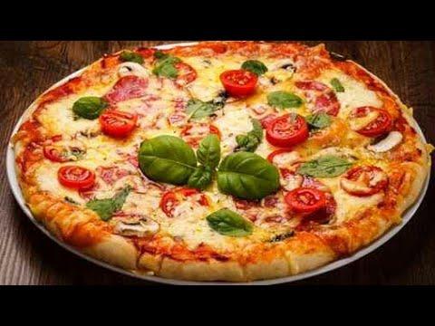 صورة  طريقة عمل البيتزا طريقه عمل البيتزا السائلة في الخلاط👍👍 بكل سهوله وبدون فرن وبطريقة مضمونه100%✔✔ طريقة عمل البيتزا من يوتيوب