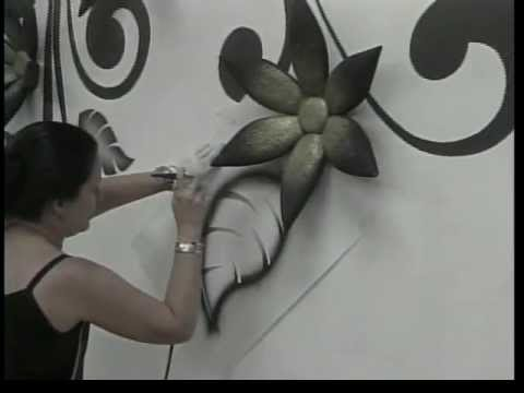 Murales y decoraciones en 3d youtube for Murales para pared
