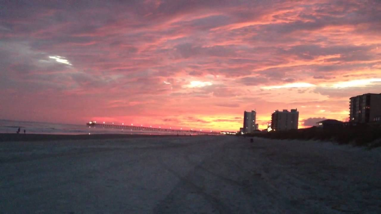 Speaking, opinion, North myrtle beach sunset question not