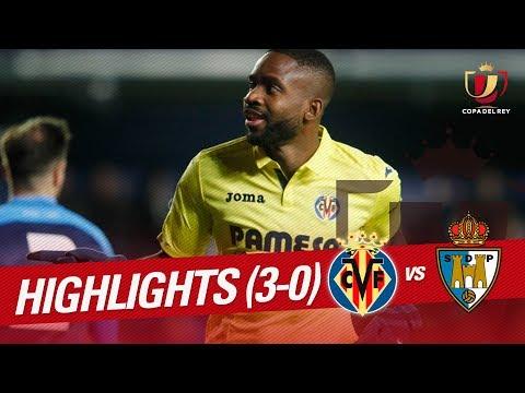 Resumen de Villarreal CF vs SD Ponferradina (3-0)