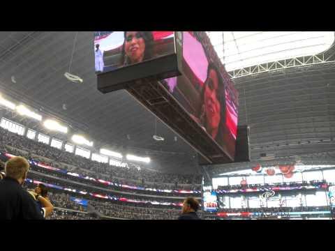 Dallas Cowboys National Anthem Star De Azlan Tampa