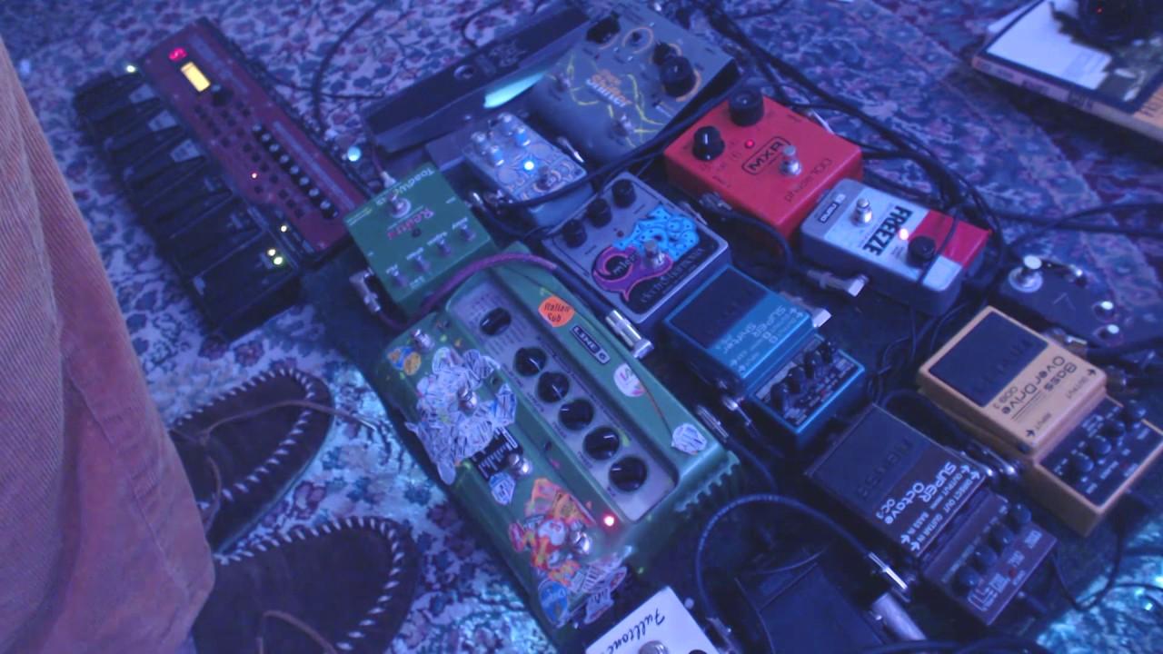 bedrone 23 live ambient guitar pedal music youtube. Black Bedroom Furniture Sets. Home Design Ideas