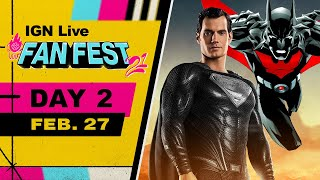 IGN FanFest 2021 Livestream - Snyder Cut, Batman Beyond Table Read, & More! | Day 2