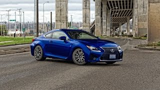 Lexus RC F 2016 Videos