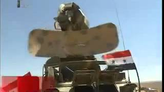 Live firing ground-to-air defence missile system Syrian Syria arm Pechora-2M Pantsyr-S1