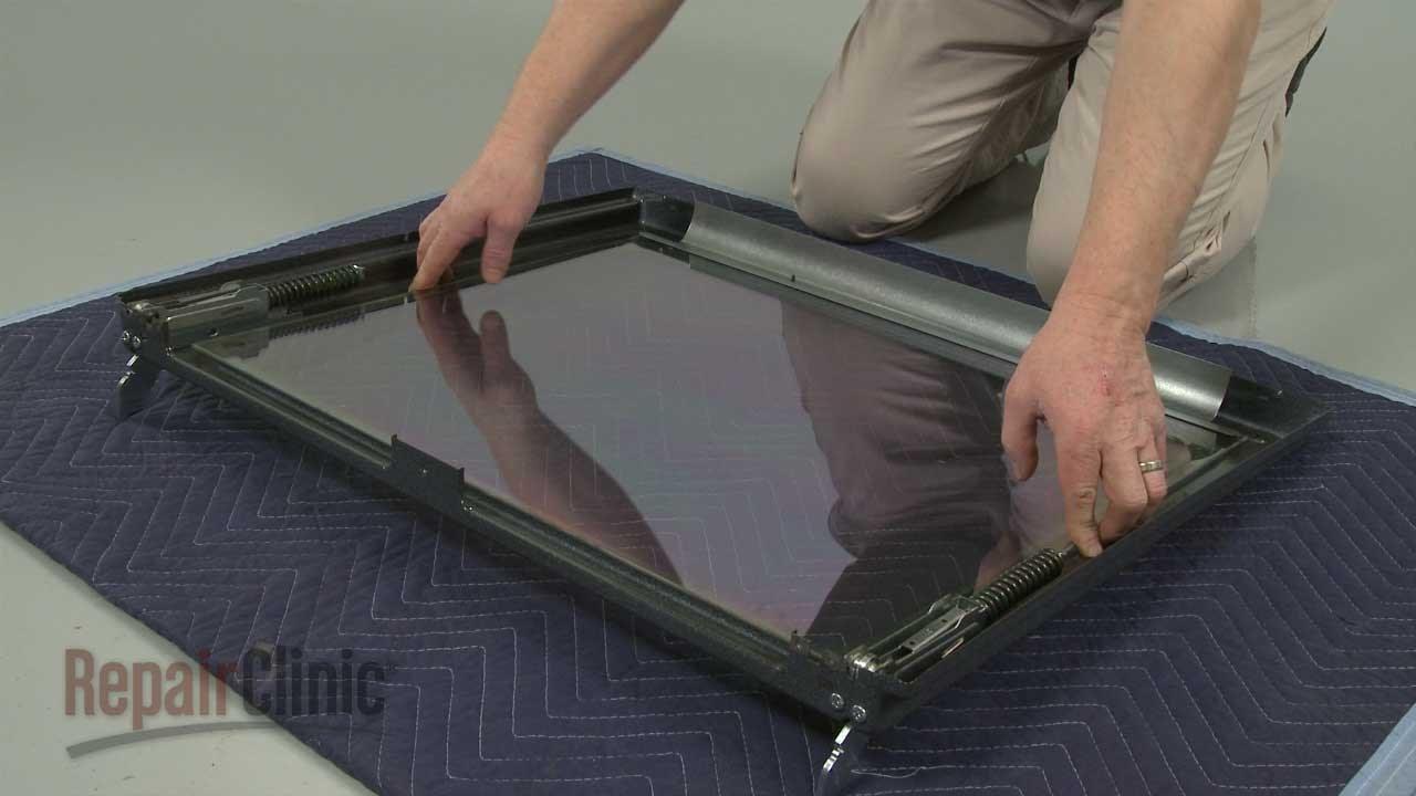 Whirlpool Range Oven Replace Inner Door Glass W10300487