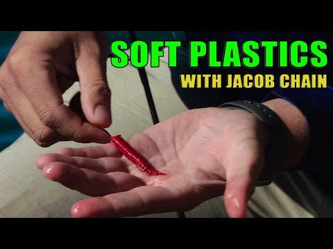 WHITING On SOFT PLASTICS Secrets With Jacob Chain | Tackle Chat S02E09