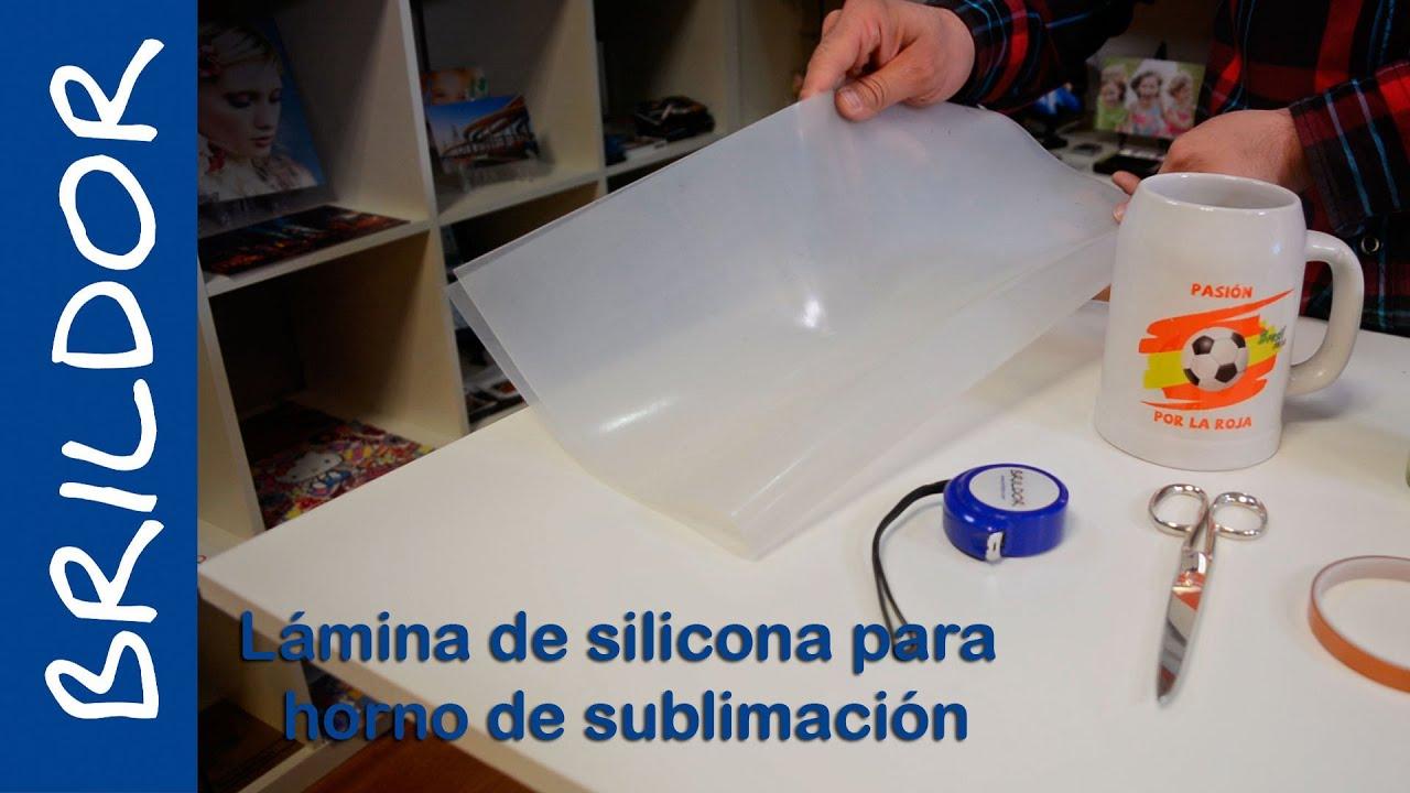 Como usar la l mina de silicona para horno de sublimaci n - Como quitar silicona de la pared ...