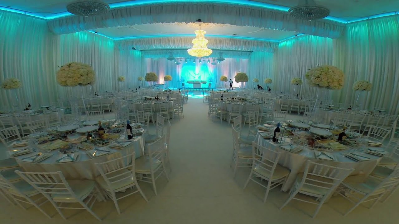 Royal Palace Banquet Hall All Around Led Lighting System