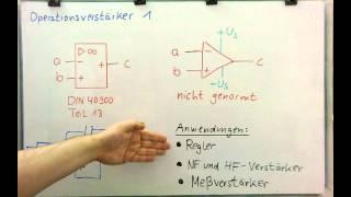 Elektronik - OPV 1 - Was ist ein Operationsverstärker