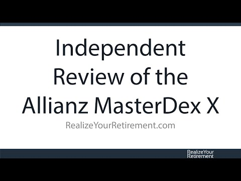 Allianz MasterDex X Fixed Index Annuity Review