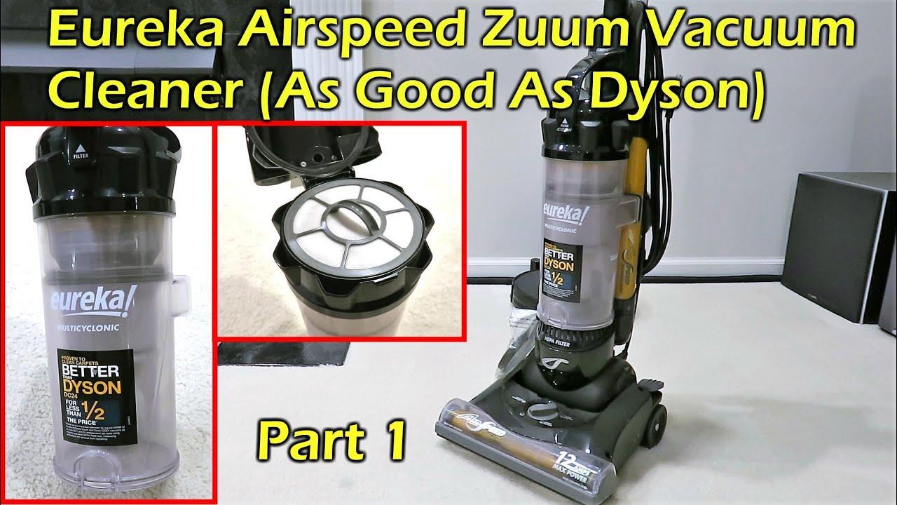Eureka Airspeed Zuum Vacuum Cleaner As good as a Dyson at half the