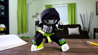 Download Stop-Motion Ninja Melk Commercial! Mp3 and Videos