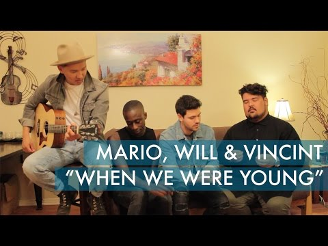 When We Were Young - Adele (Cover by Mario Jose, Will Makar & VINCINT)