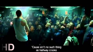 Eminem last battle vs papa doc 8 Mile with lyrics