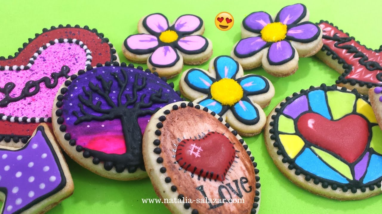 Decorar Con Glasa Real Cómo Decorar Galletas Con Glasa Real O Royal Icing Natalia Salazar