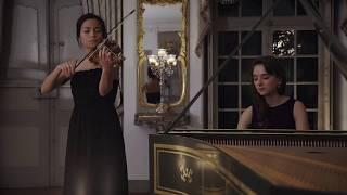 BACH Sonate für Violine & Cembalo obbligato in E-Dur, BWV 1016